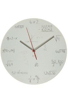Solve Some Time Clock | Mod Retro Vintage Wall Decor | ModCloth.com - StyleSays