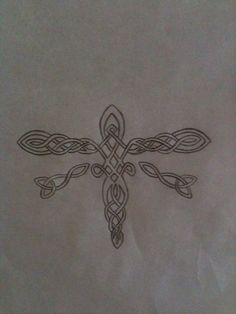 Celtic Dragonfly Designs Tattoo Design
