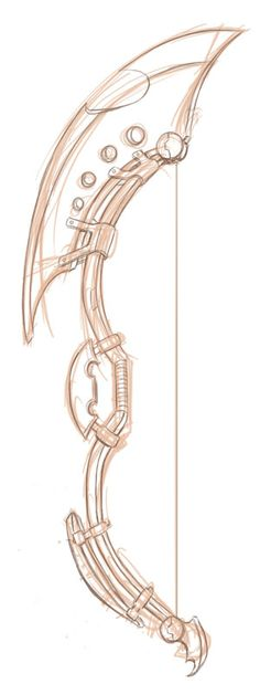 Bow Design  O.O The Ultimate silent weapon! <3