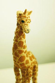 Oh my goodness, this is amazing! Crochet Giraffe by~finkscheon Deviantart.