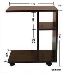 Side Coffee Table with Wheels - Interior Decoration Accessories coffee tables Modular Furniture, Pallet Furniture, Furniture Plans, Furniture Decor, Living Room Furniture, Modern Furniture, Furniture Design, Coffee Table With Wheels, Side Coffee Table