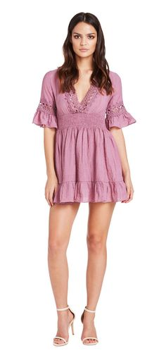 Summer Holiday Dress (Dusty Pink) - Miss G