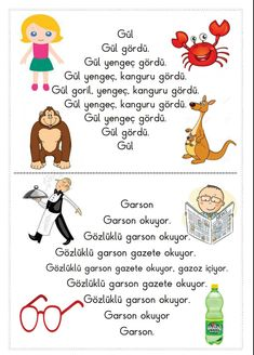 Alıntı Turkish Lessons, Learn Turkish, Reading Passages, Primary School, Learning, Character, Teaching Supplies, Learning Activities, Children Poems