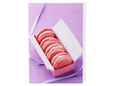 Farbe - Pinkfarbene Macraons - ein Designerstück von ElisabethCoelfen bei DaWanda