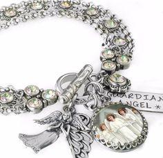 Angel Jewelry, Angel Bracelet, Personalized Angel Bracelet - Blackberry Designs Jewelry