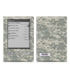 ACU Camo Design Protective Decal Skin Sticker for Sony Digital Reader Pocket PRS 300 by MyGift. $14.99. This Sony Digital Book Reader decal sticker is designed for Sony Digital Reader Pocket PRS 300. This scratch resistant skin sticker helps to protect your Sony Digital Book Reader while making an impression. Each Sony Digital Reader Pocket 300 kit features a one-piece wrap-around design for maximum coverage. Skins are paper-thin so they do not add any bulk. They're ea...