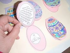 Resurrection eggs idea with printables