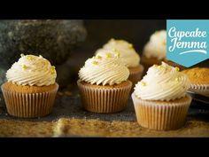 Chai Latte Cupcake Recipe   Cupcake Jemma - YouTube