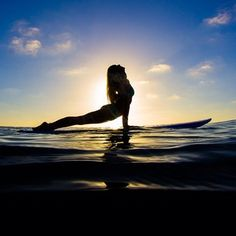 Sup yoga.. More inspiration at: http://www.valenciamindfulnessretreat.org
