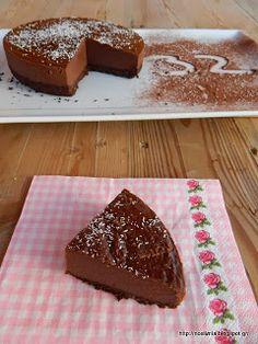 Scrumptious raw chocolate tart