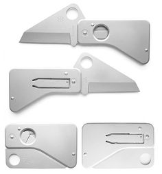 One of their best designs ever.. which is why they stopped making it?  Spyderco Spydercard