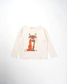Camiseta de Bobo Choses con estampado en la parte delantera. Cuello redondo y manga larga. Composición: 100% CO.