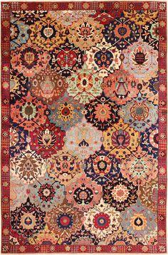 Persian Tabriz rug, 1.9 m x 2.9 m, 1940, Nazmiyal gallery