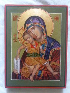 Slava Nikityuk Religious Images, Religious Art, Roman Church, Blessed Mother Mary, Orthodox Christianity, Orthodox Icons, Our Lady, Madonna, Catholic