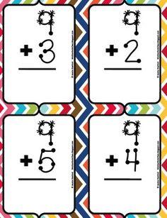 Common Core Standards Classroom Management ELA First Grade Freebies Math Reading Science Social Studies TeachersPayTeachers Technology Writing Touch Math, Touch Point Math, Addition Flashcards, Math Addition, Addition Facts, Simple Addition, Math Classroom, Kindergarten Math, Teaching Math