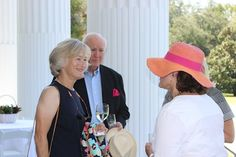 Ginny Bush, John and Marie Land at Music at Millford (September 2014).