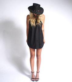 Stone Cold Fox - Leather Minx Dress  thestonecoldfox.com