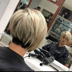 Hair Beauty - Side-Parted-Short-Bob-Haircut Best Short Bob Haircuts for Women Haircuts For Fine Hair, Short Bob Haircuts, Cute Hairstyles For Short Hair, Edgy Hairstyles, Edgy Haircuts, Asymmetrical Hairstyles, Short Hair With Layers, Layered Hair, Short Hair Cuts