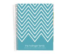 Chevron life planner for keeping track of all of your wedding planning details