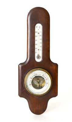 Antique English Barometer - $145