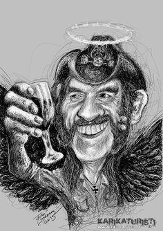 Karikaturisti: Lemmy Kilmister