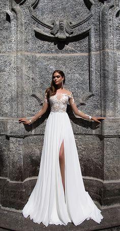 Milla Nova Bridal 2017 Wedding Dresses magnolia / http://www.deerpearlflowers.com/milla-nova-2017-wedding-dresses/18/