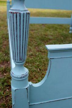 Painted vintage furniture