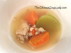 With winter well on it's way, I can't think of a better way to warm up after returning home from the cool outdoors than by drinking a warm Chinese soup -- it will warm you from the inside out. This...