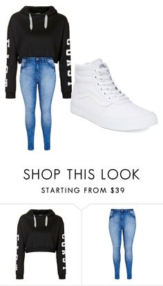 """My Style"" by crystalcat012 ❤ liked on Polyvore featuring Topshop, City Chic, Vans, women's clothing, women, female, woman, misses and juniors"