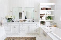 Reveal: Marble Bathroom Goals, El Dorado Hills CA - Design Shop Interiors Bad Inspiration, Bathroom Inspiration, Bathroom Goals, Small Bathroom, Marble Bathrooms, Boho Bathroom, Bathroom Styling, Bathroom Interior Design, Design Shop