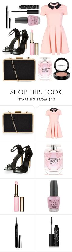 """Untitled #192"" by fadedlipstick on Polyvore featuring Victoria's Secret, Clarins, OPI, Marc Jacobs, NARS Cosmetics and MAC Cosmetics"