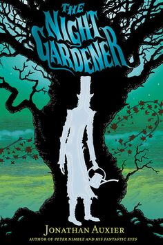 My October 2014 Book Fairy pick, THE NIGHT GARDENER by Jonathan Auxier // Spooky, but engaging story about two orphans in Victorian England who are trying to escape the deathly grip the spooky night time visitor has on the home that they work in. Rich in details and a sure-fire page turner.