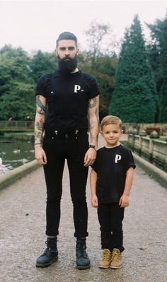 http://chicerman.com  billy-george:  Like father like son  #streetstyleformen