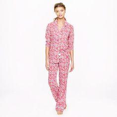 Liberty pajama set in Wiltshire - sets - Women's sleepwear - J.Crew
