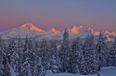 snowy landscape at night - Google Search