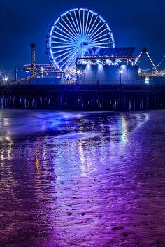 Santa Monica Reflections by Joshua Gunther, via Flickr