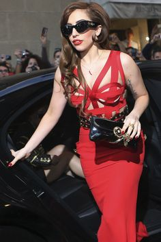 Lady Gaga. Versace. <3
