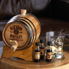 Personalized Barrel Whiskey Bootleg Kit - Wine Enthusiast