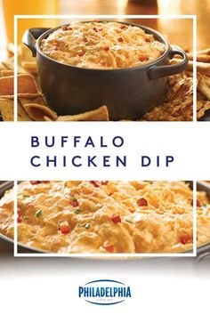 No one wants to spend the day slaving away in the kitchen. With just three easy steps and ten minutes of prep, this Buffalo Chicken Dip is your go-to party accessory. #ItMustBeThePhilly