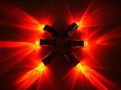 10 x Mini LEDs Red Fish Bowl Latern Table Wedding Centerpiece Decoration