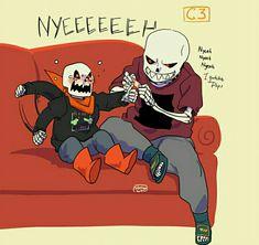 Oh gosh, babybones underfell! Undertale Comic Funny, Anime Undertale, Undertale Ships, Undertale Drawings, Undertale Cute, Underfell Comic, Underfell Sans, Frans Undertale, Sans Cute