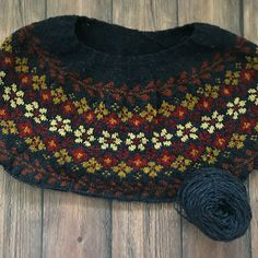 Birkin pattern by Caitlin Hunter - Knitting Patterns & Inspiration Diy Abschnitt, Fair Isle Knitting Patterns, Sweater Knitting Patterns, Knitting Stitches, Knitting Designs, Knit Patterns, Knitting Projects, Baby Knitting, Crochet Crafts, Knit Crochet