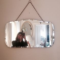 1930's Art Deco original vintage mirror from #Find #Cowslane #TempleBar #Vintagehomestore www.findonline.ie