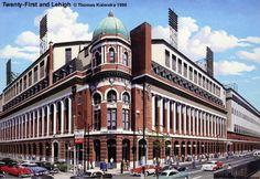 Shibe Park - Phillies home from 1909-1970. Aka...Connie Mack Stadium.