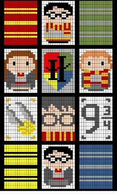 Newest Absolutely Free knitting charts harry potter Thoughts nice Harry Potter graph, credit: Michelle Smith Gonzalez – Jessica Caplinger , Cross Stitch Harry Potter, Harry Potter Crochet, Harry Potter Quilt, Theme Harry Potter, Crochet Pixel, C2c Crochet, Pixel Crochet Blanket, Crochet Geek, Crochet Afghans