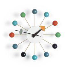 Fab.com | Ball Clock Multi by George Nelson