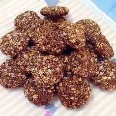 Çikolatalı diyet kurabiye (unsuz, yağsız ve şekersiz)