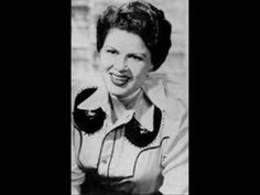 Patsy Cline has always been and will always be my favorite female artist. I often wonder what she would have accomplished if she hadn't left this earth so early in her career.