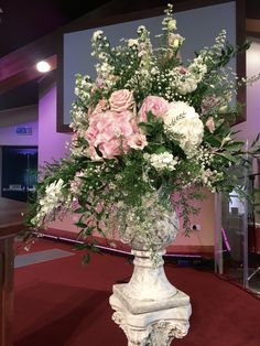 Posy Barn urn arrangement