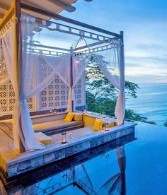 Porches, Paradise Found, Golden Gate Bridge, Marina Bay Sands, Building, Travel, Decks, Courtyards, Front Porches